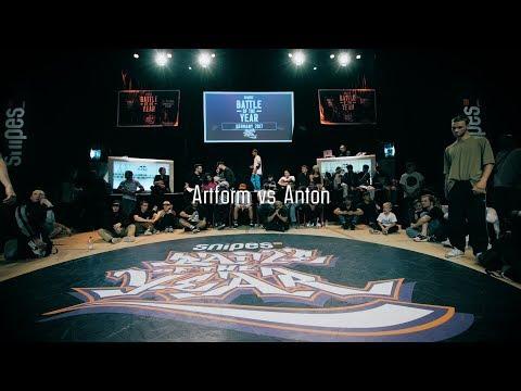 Artform vs Anton | 1vs1 Top 8 | BOTY Germany 2017