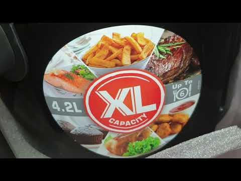 Moulinex Ez4018 Easy Fry Deluxe Friggitrice Ad Aria Senza Olio Youtube