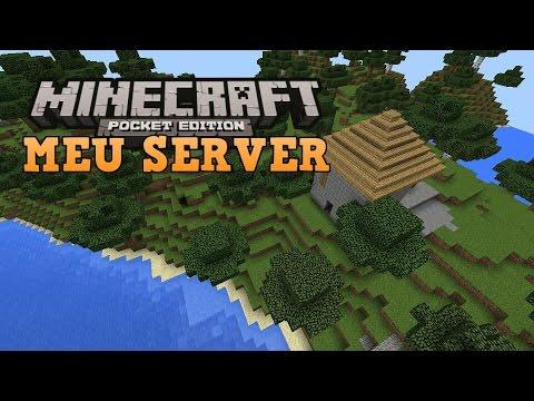 MEU SERVER DE PARKOUR - ( Minecraft PE )