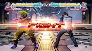 Tekken 7 DeadLock_24_7 (Lars) VS riga89 (Lars) Revered Ruler Rank