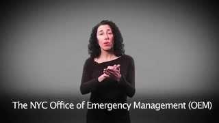 Notify NYC American Sign Language (ASL) Message: Hazardous Travel Advisory