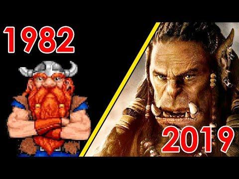 Evolution Of Blizzard Games 1991-2019