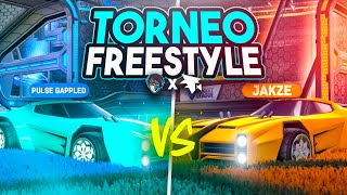 REACCIONANDO AL TORNEO DE FREESTYLE FLAMEC x DUALVIEW 🚀 JAKZE VS GAPPLED | ROCKET LEAGUE