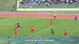 recuerdo de un escao robado sport huancayo vs sport huamanga ccori