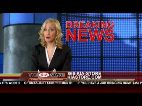 Kia Store Louisville Commercials - Breaking News