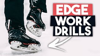 Edge Work Drills // World Famous Hockey Skills Coach! 🏒