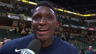 Victor Oladipo Emotional In Return As He Dedicates Clutch Shot To Kobe And Gianna Bryant