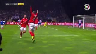 Goal   Golo Rafa: Benfica (1)-1 FC Porto (Allianz Cup 18/19 1/2 final)