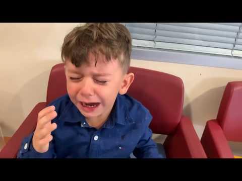Yusuf'un Gözüne Damla Damlattılar çok Ağladı😭Ama Sonra Doktor Muayene Etti Hiç Ağlamadı Iyileşti😍