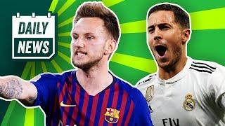 Transfer News: Hazard zu Real Madrid? Thorgan zu BVB oder Liverpool? Rakitic mit Juventus einig?