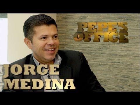 JORGE MEDINA DESPUÉS DE LA ARROLLADORA - Pepe's Office