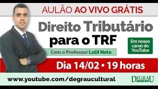 Aulão transmitido ao vivo com o professor Latif Neto sobre Direito ...