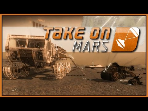 Transporting Cargo  - WICKED TAKES ON MARS - Part 4 [Let's Play Take On Mars Gameplay]