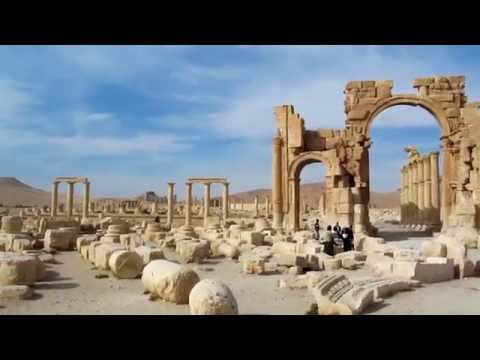 A Moment amongst Palmyra's Ancient Ruins