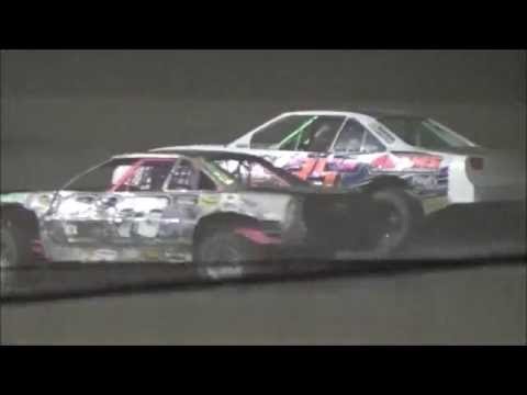 Salina Speedway *Mid America Clash 4* Coors Light IMCA Stock cars 10-1-16