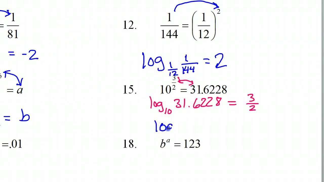 Expanding And Condensing Logarithms Worksheet   Fillable ...