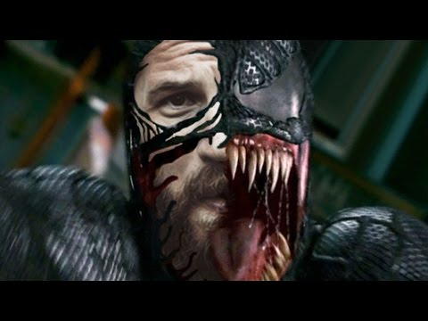 Tom Hardy Is Venom Reaction!