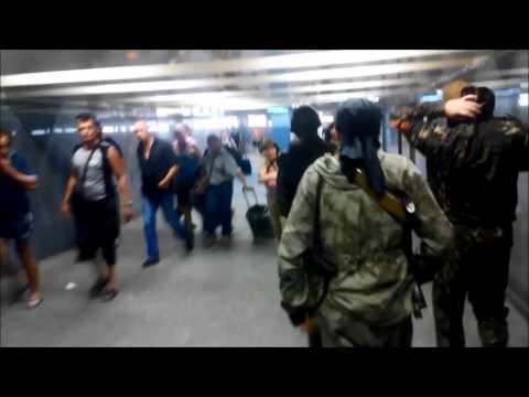 нац  гвардия бомбит вокзал донецка
