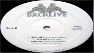 Backlive ‎- 1000 MCs (Full Vinyl) (1996)