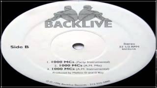 Backlive - 1000 MCs (Full Vinyl) (1996)