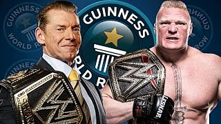 5 WWE Wrestlers With World Records