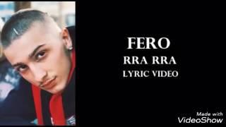 Fero - RRA RRA ME TEKST