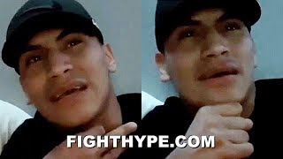 """(WHOA!) VERGIL ORTIZ WARNS ERROL SPENCE HE CAN STOP HIM; PUTS HIM ON """"SAME SIZE"""" NOTICE"""
