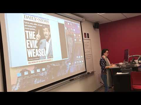 Daniella Zalcman Showcases Her Work To A Class Of Journalists