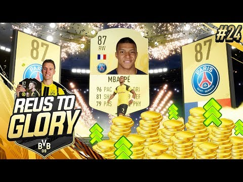 MBAPPE IN REWARDS + Making SERIOUS COINS  Reus To Glory 24  FIFA 19 Road To Glory