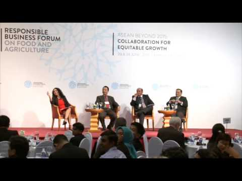 Labor and social impact in the food and agriculture supply chain - RBF, HANOI 2015