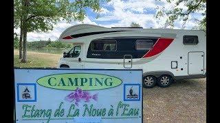Mit dem Wohnmobil durch Frankreich I Baguette aus dem Automat & CAMPING DE LA NOUE