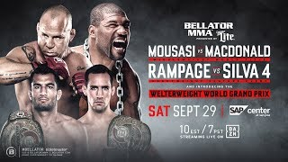Bellator 206 Weigh Ins Video and Results