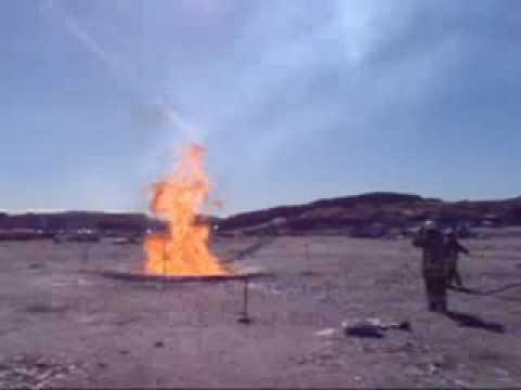 LNG Fire Demonstration