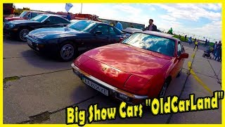 """Big Show Cars """"OldCarLand"""" 2018. Classis German Sport Cars of the 90s Porsche"""