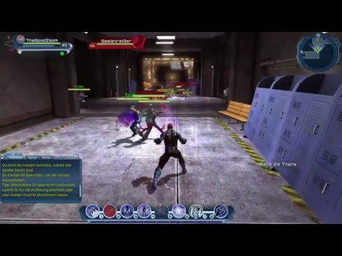 DC Universe Online Mental Powers Gameplay
