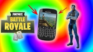 How To Get Fortnite Battle Royale on Blackberry Phone (classics)