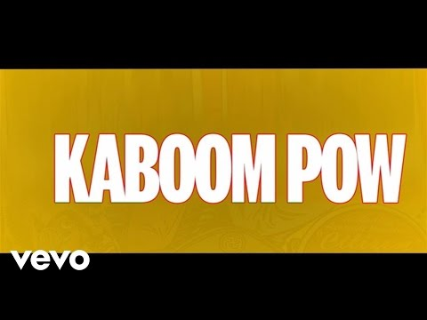 Nikki Yanofsky - Kaboom Pow (Lyric Video)