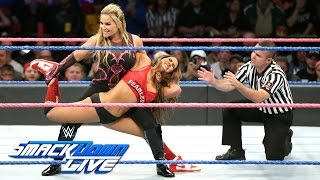 Nikki Bella vs. Natalya – Sieger wird Survivor Series Team Captain: SmackDown LIVE, 25. Oktober 2016