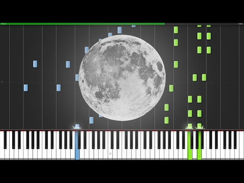 To The Moon Medley [Piano Tutorial] (Synthesia) // Shipluss