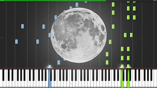 Video To The Moon Medley [Piano Tutorial] (Synthesia) // Shipluss download MP3, 3GP, MP4, WEBM, AVI, FLV Juni 2018