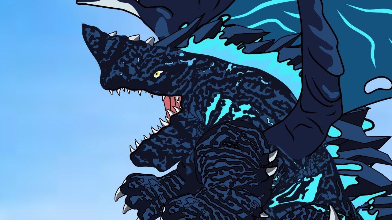 #Shorts - Naga Godzilla Geogantis vs Shin Godzilla And Godzilla