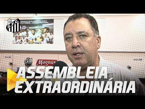 PRESIDENTE DO CONSELHO ANALISA ASSEMBLEIA EXTRAORDINÁRIA