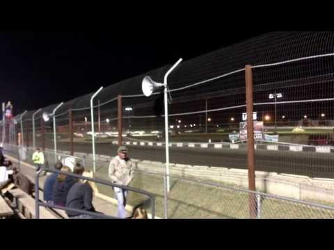 IMCA Hobby Stock Feature Start at Redwood Speedway
