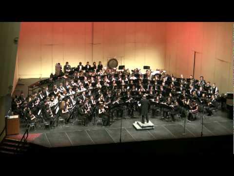 Lux Aurumque - CBDA All State Concert Band 2010