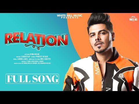 Relation (Full Song) | Zorawar | Ruk Jaani Meri Heart Beat Sohneya | New Punjabi Romantic Songs