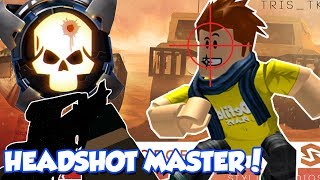CRAZY SNIPING HEADSHOTS IN ROBLOX PHANTOM FORCES!! / DefildPlays