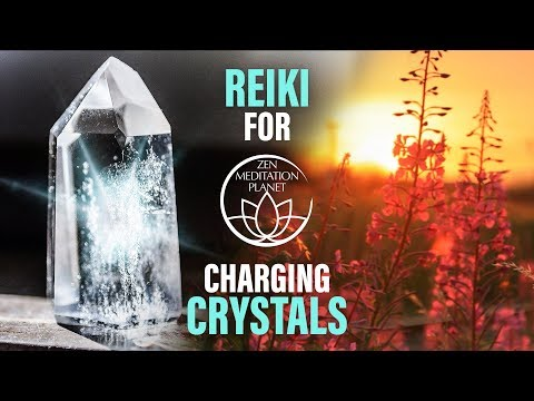 Reiki Music for Charging Crystals - Crystal Healing Therapy
