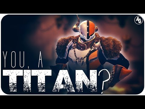 So this guy tweeted me asking how to Titan. This is for you, bud.