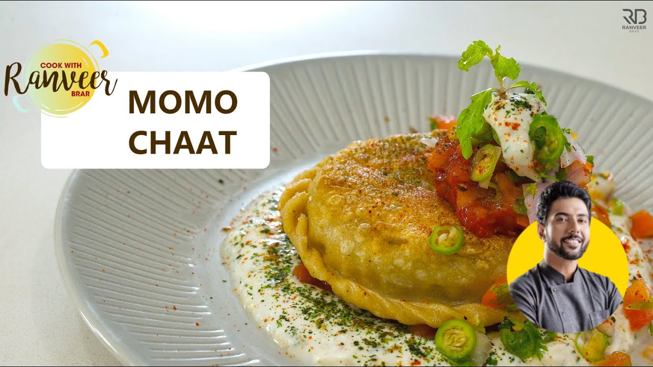 Tasty Momo Chaat | नायाब मोमो चाट | AfghanMomo चाट | Quick Tasty Healthy recipe| Chef Ranveer Brar