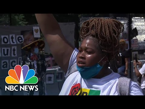 'We Aren't Done' Protests Continue in Washington, D.C. | NBC News